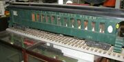5 Scale New York Central And Hudson River Railroad Passenger Car 62 Inches Long