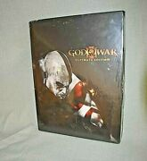 New Sealed God Of War Iii Ultimate Edition Hardcover Guide Book Playstation Ps3