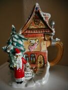 Albert Stahl Limited Edition Merry Christmas Chapel Lidded Beer Stein 1994