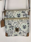 Disney Dooney And Bourke Dvc 25th Vacation Club Letter Carrier Crossbody Bag