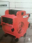 Central Machinery 3 Speed Portable Blower Fan Tool Drying Paint Floor Wet Carpet