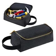 Kalidi Canvas Tool Bag Zipper Pouch Multi Tool Organizer For Pliers Wrench Sc...