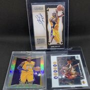 Kobe Bryant Lot - Rookie + Silver Select + Numbered On Card Auto + Topps Chrome