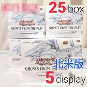 Yu-gi-oh Card Ghosts From The Past North American Version 5 Displays 25 Boxes