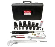 Reed Mfg 09165 Ft2000univ Feed Tap Drilling Machine Complete Kit 3/4 - 2