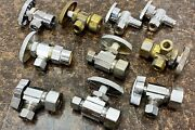 Brass Craft Apollo Eastman Water Supply Line Angle Valve Assortment Lot Of 10