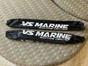Vs Marine 34andrdquo Black Trailer Guide Pole Covers Only ..no Foam Sold As A Pair