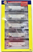 N Scale Athearn 25029 Wepx Wisconsin Electric Bethgon Coalporter Five Car Set 2