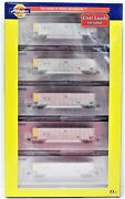 N Scale Athearn 25030 Wepx Wisconsin Electric Bethgon Coalporter Five Car Set 3