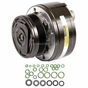 New Oem R4 Ac Compressor W/ Clutch And O-ring Kit For Gm And Isuzu