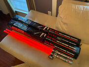 2 Star Wars Darth Maul Force Fx Lightsaber Master Replicas 2006 Double Blade