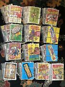 Topps Wacky Packages Original 3rd- 15th Series Complete Sets With Checklists