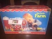 Vtg 1967 Fisher Price Little People Play Family Farm Set 915 Complete W/box