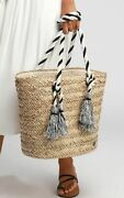 Billabong Island Time Straw Bag Brand New With Tags