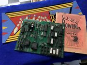 Strata Bowling Arcade Pcb Board And Marquee Tested