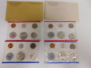 1961 1962-p And D Official U.s. Mint Set - 20 Coins W/silver Franklin