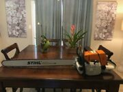 Ms660 Farmertec Chainsaw Not Stihl Big Bore 36and039and039bar And Chain Includedtuned
