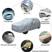 For Ford Mustang Car Cover Taffeta Waterproof Dust Uv Resistant Protection 3xl