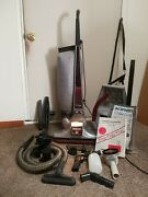 Kirby Vacuum Cleaner Heritage Ii 2hd Hose And Attachments And Bags Vtg