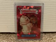 Garbage Pail Kids Gpk Sapphire Smelly Kelly Red 5/5 Os2 43a