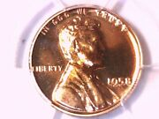 1958 Proof Lincoln Wheat Cent Penny Pcgs Pr 68 Rd 42457439
