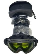 Si Ballistic Goggles Black W/ Extra Lenses And Hard Case