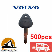 500pcs 777 Ignition Key Fits Volvo And Samsung Excavator Clark Lift Truck