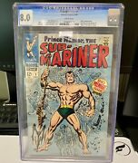 Sub-mariner 1 Old Label Cgc 8.0 White Pages ❄️ Marvel Comics Free Shipping 🔥
