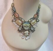 Ayala Bar Necklace Statement Exquisite New Old Stock Signed Stunning Art Superb