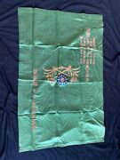 Ww2 Cbi Chinese Large Silk Presentation Banner Of Respect To Us 25th Division