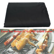 Garden Patio Bbq Grill Cover Protector For Weber 7110 Accessories Black
