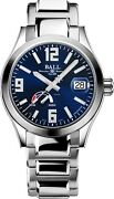 Authorized Dealer Ball Pm9026c-scj-be Engineer Iii Power Reserve Blue Dial Watch