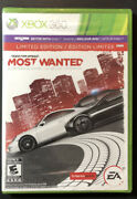 Need For Speed Most Wanted [ Limited Edition ] Xbox 360 New