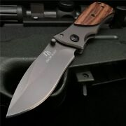 Pocket Folding Tactical Military Survival Outdoor Camping Hunting Blade Knife