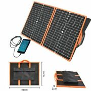 Solar Panel 12v 40w Battery Charger 5v Usb For Phone Powerbank Foldable Portable