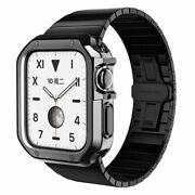 Stainless Steel Strap Case For Apple Watch 6 Se 5 4 3 2 Bracelet Cover Iwatch