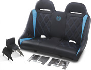 Bs Sands Exbetbbdc Extreme Front And Rear Bench Seats Titanium Blue Diamond