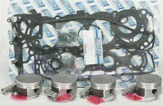 Wsm Top End Kit Yam Fx1800 Std Non Supercharged Models 010-874-10p