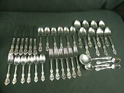 Michelangelo Oneida Cube And Usa Stainless 36 Pc. Flatware Set For 6 W/ Serving