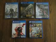 Ps4 Assassins Creed Origins And Lot Of Ps4 Games