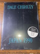 Dale Chihuly Japan 1990 Special Edition Signed Book Brand New