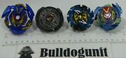 Lot Of 4 Assorted Beyblades Beyblade Replacement Parts Only
