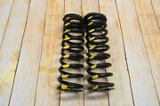 2000-03 Xjr Jaguar Supercharged Front Left Right Coil Spring Pair Oem Used