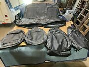 1970 Plymouth Road Runner Legendary Interior Front Bucket Seat Covers Black Used