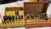 Bergeon Bushing Tools And Accessory Stumps Reamers Rose Cutters 2 Box Sets