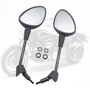 Rearview Mirrors For Vespa Gts Gtv 50 125 200 Spare Parts Accessories Black