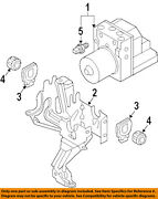 Audi Oem 03-06 A4-abs Pump And Motor Assy 8e0614517l