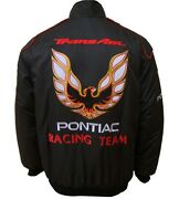 Pontiac-trans Am-jacket-blouson-jaquette. Racing Team All Logo In Brodery