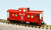 Usa Trains G Scale 12152 Center Cupola Caboose Baltimore And Ohio Red