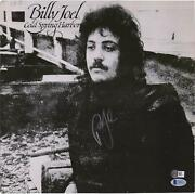 Billy Joel Autographed Cold Spring Harbor Album Cover Bas